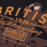 Мужская футболка Barbour Morton Black фото- 1
