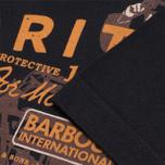 Мужская футболка Barbour Morton Black фото- 3