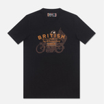 Мужская футболка Barbour Morton Black фото- 0
