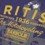 Barbour Morton T-shirt Midnight Blue Marl photo- 1