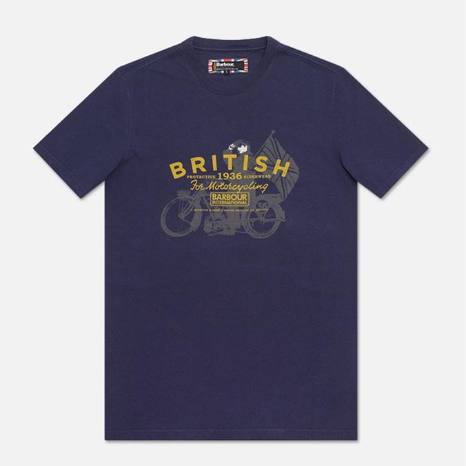 Barbour Morton T-shirt Midnight Blue Marl