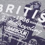 Мужская футболка Barbour Morton Storm Grey Marl фото- 1