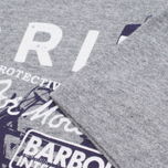 Мужская футболка Barbour Morton Storm Grey Marl фото- 3