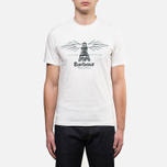 Мужская футболка Barbour New Beacon Off White фото- 0