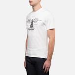 Мужская футболка Barbour New Beacon Off White фото- 1