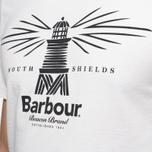 Мужская футболка Barbour New Beacon Off White фото- 5