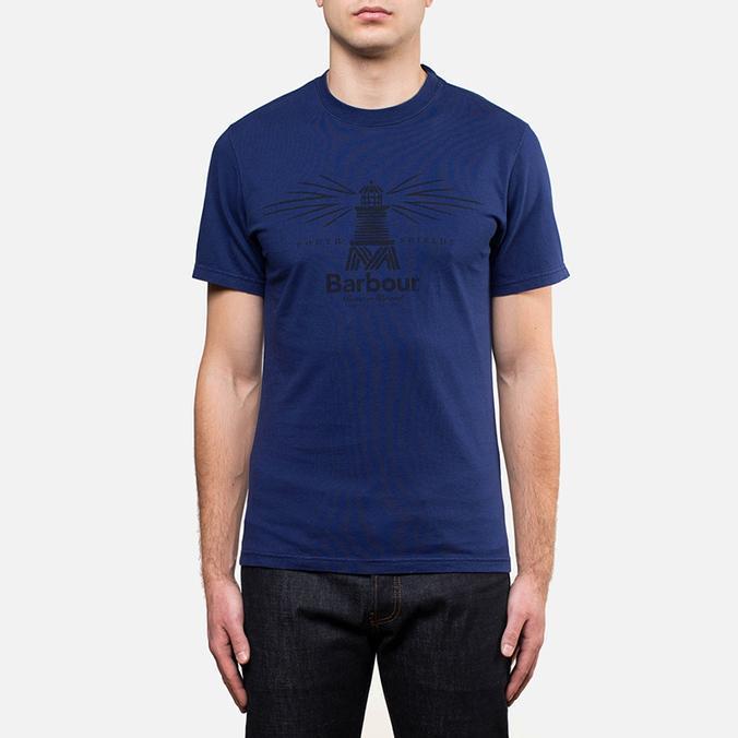 Мужская футболка Barbour New Beacon Royal Blue