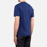 Мужская футболка Barbour New Beacon Royal Blue фото- 3