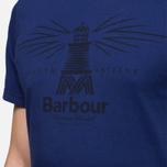 Мужская футболка Barbour New Beacon Royal Blue фото- 5