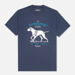Мужская футболка Barbour Pointer Washed Navy фото- 0
