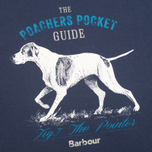 Мужская футболка Barbour Pointer Washed Navy фото- 2