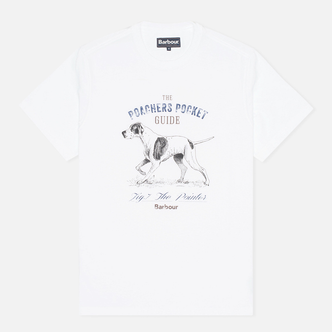 Мужская футболка Barbour Pointer White