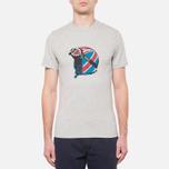Мужская футболка Barbour Protector Grey Marl фото- 4