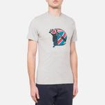 Мужская футболка Barbour Protector Grey Marl фото- 0