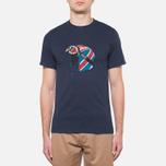 Мужская футболка Barbour Protector Navy фото- 4