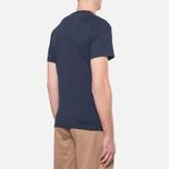 Мужская футболка Barbour Protector Navy фото- 2