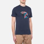 Мужская футболка Barbour Protector Navy фото- 0