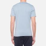 Мужская футболка Barbour Union Jack Powder Blue фото- 3