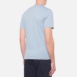 Мужская футболка Barbour Union Jack Powder Blue фото- 2