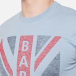 Мужская футболка Barbour Union Jack Powder Blue фото- 5