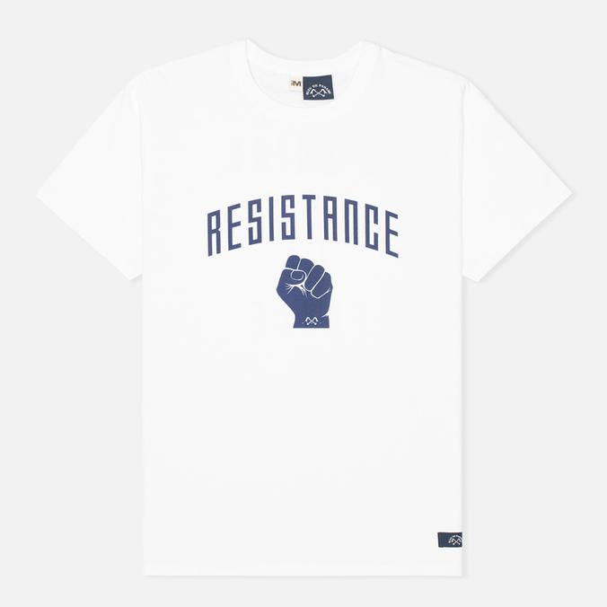 Мужская футболка Bleu De Paname Resistance Ecru