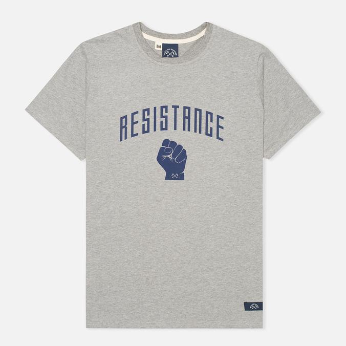 Мужская футболка Bleu De Paname Resistance Zinc