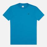 Мужская футболка C.P. Company Jersey Hood Print Blue фото- 0