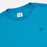 Мужская футболка C.P. Company Jersey Hood Print Blue фото- 2