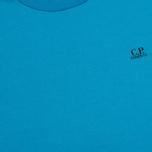 Мужская футболка C.P. Company Jersey Hood Print Blue фото- 3