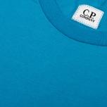Мужская футболка C.P. Company Jersey Hood Print Blue фото- 4