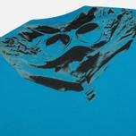 Мужская футболка C.P. Company Jersey Hood Print Blue фото- 1