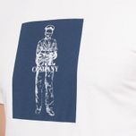 C.P. Company Logo Print Neutral/Navy photo- 4