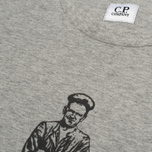 Мужская футболка C.P. Company Logo Sailor Print Grey фото- 3