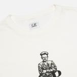Мужская футболка C.P. Company Logo Sailor Print White фото- 1
