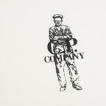 Мужская футболка C.P. Company Logo Sailor Print White фото- 2