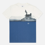 C.P. Company Rome Print T-shirt White photo- 0