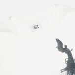 C.P. Company Rome Print T-shirt White photo- 1