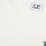 C.P. Company Rome Print T-shirt White photo- 3