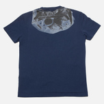 Детская футболка C.P. Company U16 Goggle Print Navy фото- 3