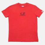 Детская футболка C.P. Company U16 Goggle Print Red фото- 0