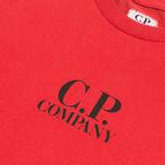 Детская футболка C.P. Company U16 Goggle Print Red фото- 1