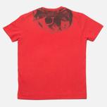 Детская футболка C.P. Company U16 Goggle Print Red фото- 3