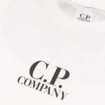Детская футболка C.P. Company U16 Goggle Print White фото- 1