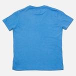 Детская футболка C.P. Company U16 Logo Print Blue фото- 3