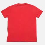 C.P. Company U16 Logo Print Red photo- 3