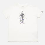 Детская футболка C.P. Company U16 Logo Print White фото- 0
