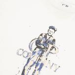 Детская футболка C.P. Company U16 Logo Print White фото- 1