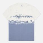 Мужская футболка C.P. Company Venezia Print White фото- 0