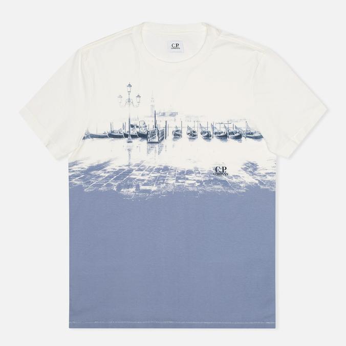 Мужская футболка C.P. Company Venezia Print White