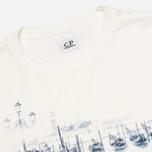 Мужская футболка C.P. Company Venezia Print White фото- 1